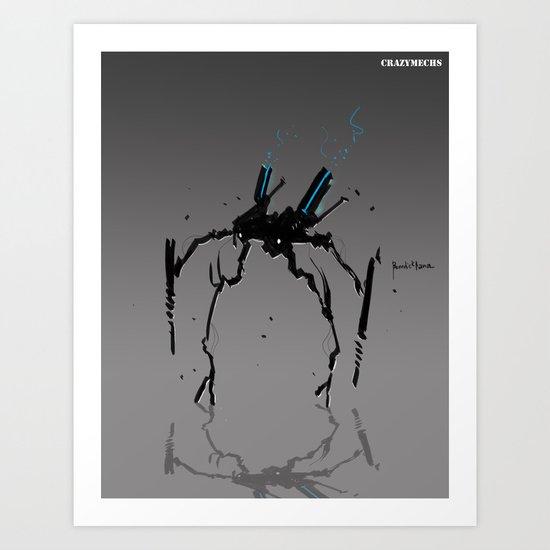 CM Drunker Art Print