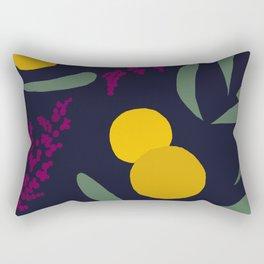 Abtract Garden by Night Rectangular Pillow
