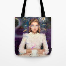 a tea with Alice Tote Bag