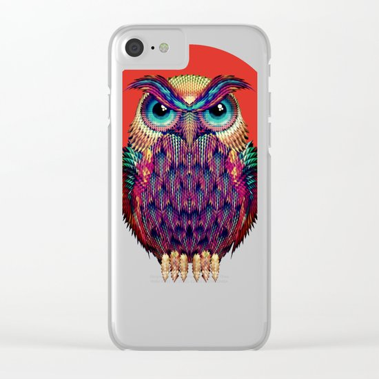 OWL 2 Clear iPhone Case