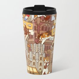 Grower Cats Metal Travel Mug