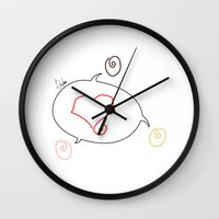 equality Wall Clocks featuring Equality by Difilippo
