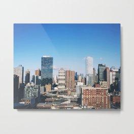 Sun Shines on Midtown Metal Print