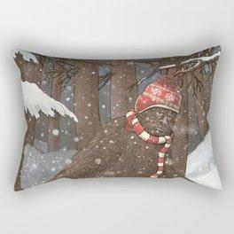 Everyone Gets Cold Rectangular Pillow