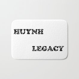 Huynh Legacy Scattered Leaves Bath Mat