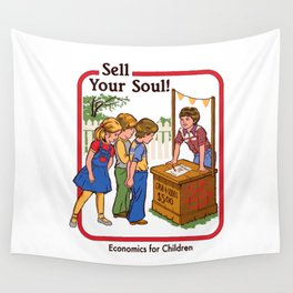 SELL YOUR SOUL Wall Tapestry