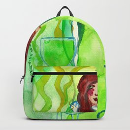 Sweet Poison - Bright Green Backpack