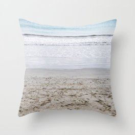 b e a c h Throw Pillow