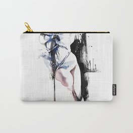 Shibari - Japanese BDSM Art Painting #4 Carry-All Pouch