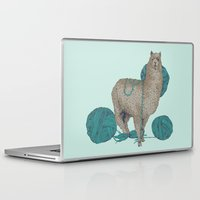 lama Laptop & iPad Skins featuring Lama by Anoukisch