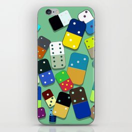 Domino Pattern iPhone Skin