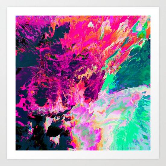 Eudokía (Abstract 42) Art Print