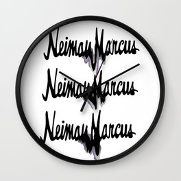 NM drips Wall Clock