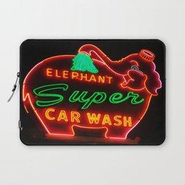 Elephant Super Car Wash Laptop Sleeve