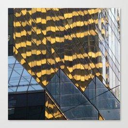Manhattan Windows - Leopard Canvas Print
