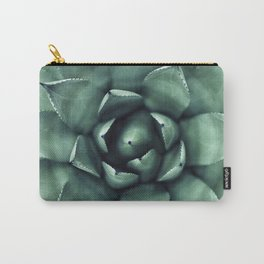 Macro Succulent Carry-All Pouch