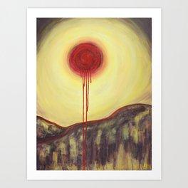 Blister (See How Deep the Bullet Lies) Art Print
