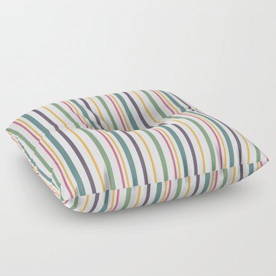 Floor Pillows Patterns : A fun striped pattern . 2 Floor Pillow by Fuzzyfox Society6
