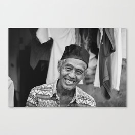 Indonesian Smile Canvas Print