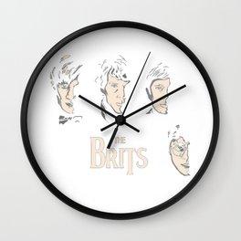 harrypotter the beatlesdoctor Wall Clock