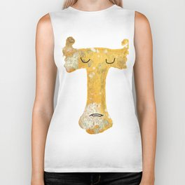 """T is for """"Tarnished"""" Biker Tank"""