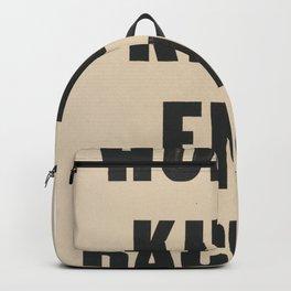End Racism! Backpack