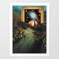 Run, run, dreamers Art Print