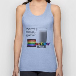 Like The Colors Of The Rainbow Unisex Tank Top