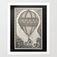 The Theory of Air #2 Art Print