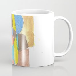 171013 Invaded Space 17 |abstract shapes art design |abstract shapes art design colour Coffee Mug