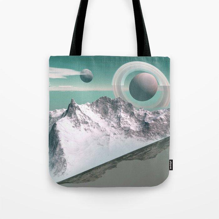 celestial horizon Tote Bag