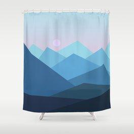 Landscape NC 01 Shower Curtain