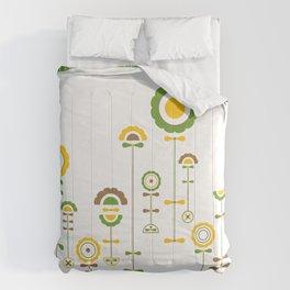sunny garden Comforters