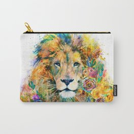 Garden of the Wild ~ LION Carry-All Pouch