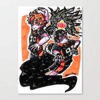 haikyuu Canvas Prints featuring Haikyuu!! by Agui-chan