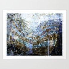 The Final Storm! Art Print