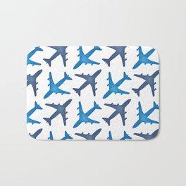Plane Pattern Bath Mat