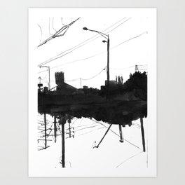 Railway IIX Art Print