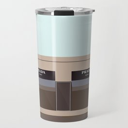 Marfa Installation: A digital illustration Travel Mug
