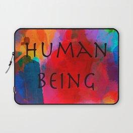 Human being- Pride Laptop Sleeve