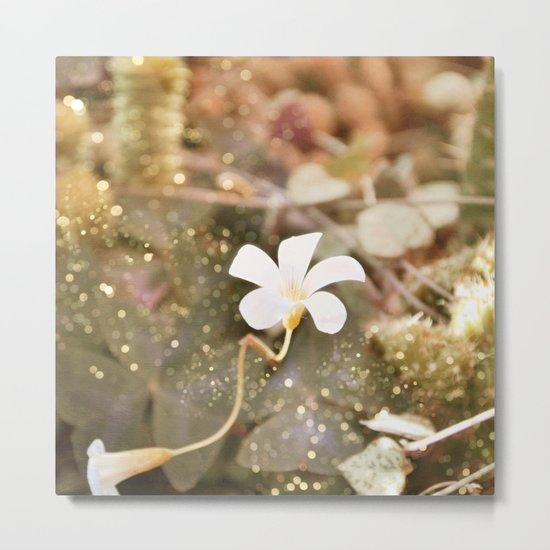 Pastel vibes floral III Metal Print