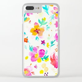 A Little Tropical Clear iPhone Case