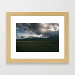 Sawatch Range at Dusk Framed Art Print