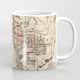 Vintage Map of Butte Montana (1909) Coffee Mug