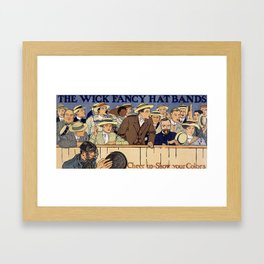 Cheer up, show your colors Framed Art Print