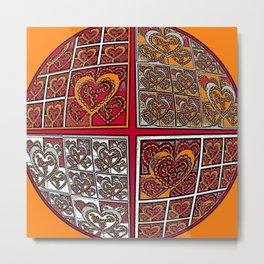 World of Love #5 Metal Print