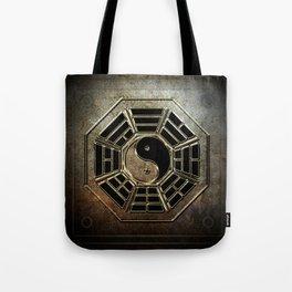 Yin Yang Bagua Tote Bag