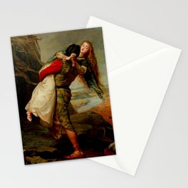 """John Everett Millais """"The Crown of Love"""" Stationery Cards"""