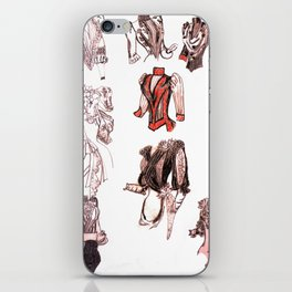 18th C. bodice nation iPhone Skin