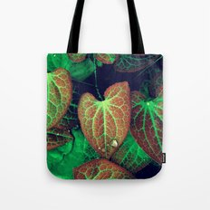 Plant Art, Simply Leaves Tote Bag